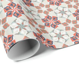 休日のOrigamiの花のギフト用包装紙のヴィンテージ1 ラッピングペーパー