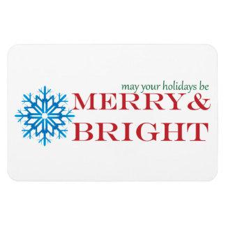休日は雪片ビジネスFlexiの磁石を望みます マグネット