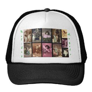 休日 天使 帽子 緑 I - カスタマイズ可能 トラッカー帽子