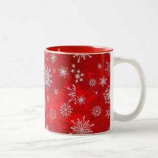休暇の季節のマグ ツートーンマグカップ