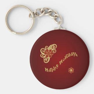 休暇の季節Keychain キーホルダー