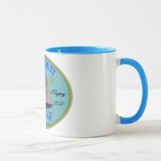 休暇の行先- Ogunquit、メイン マグカップ