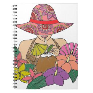 休暇 ノートブック