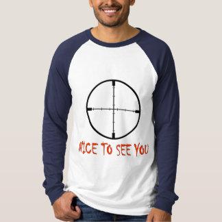 会えてうれしい Tシャツ
