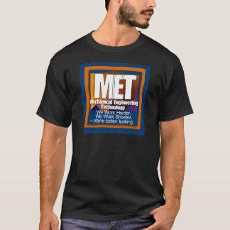 会われたスローガンのより頭が切れるでより格好良い仕事より懸命に Tシャツ