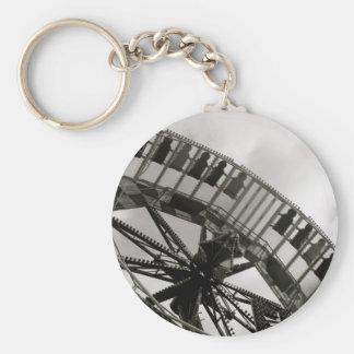 会場の乗車Keychain キーホルダー