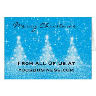 会社のメリークリスマスカード カード