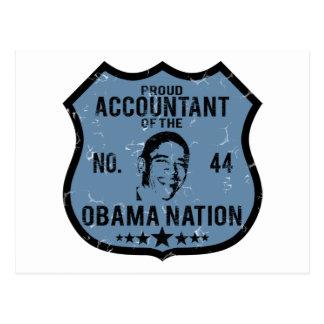 会計士のオバマの国家 ポストカード