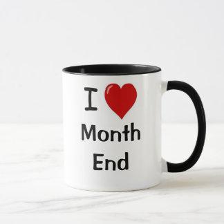 会計士のギフトのおもしろいな会計の引用文の月末 マグカップ