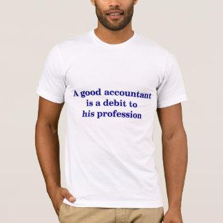 会計士のTシャツ Tシャツ