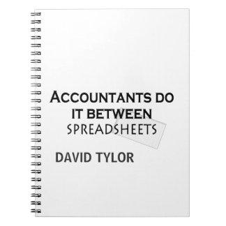 会計士はそれをします! ノートブック