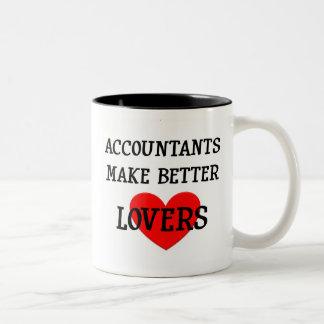 会計士はよりよい恋人を作ります ツートーンマグカップ
