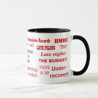 会計士は不敬な言葉(イギリス) -失礼な会計士のマグを マグカップ