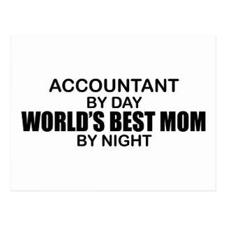 会計士-世界で最も最高のなお母さん ポストカード