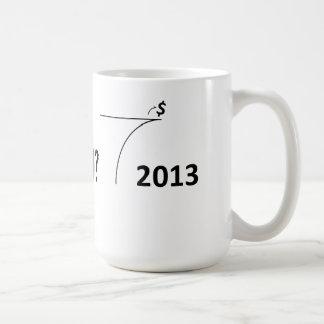 会計崖のマグ コーヒーマグカップ