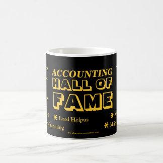 会計栄誉の殿堂! コーヒーマグカップ