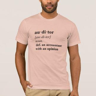 会計検査官定義-夏のモモ Tシャツ