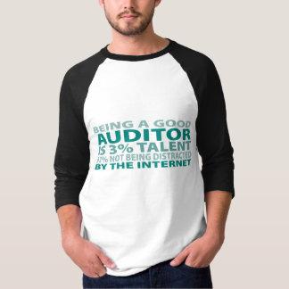 会計検査官3%の才能 Tシャツ