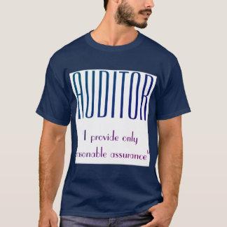 """""""会計検査官: 私は提供します適度な保証だけ"""" Tシャツ"""