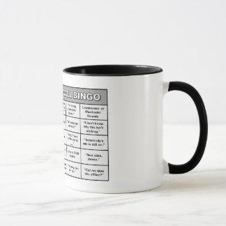 会議呼出のビンゴのマグ マグカップ