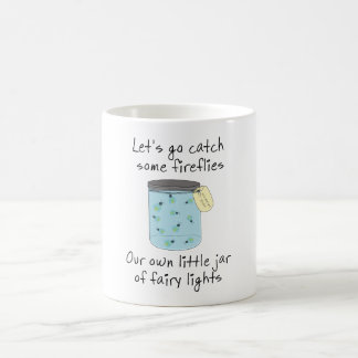 伝染性のホタル コーヒーマグカップ