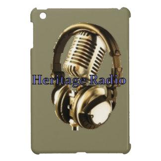 伝統の無線のロゴ iPad MINIケース