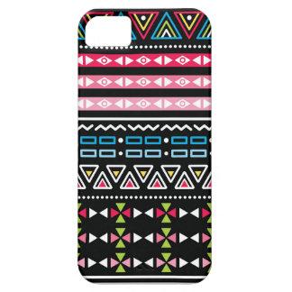 伝統的でアステカで継ぎ目が無い種族の民芸パターン iPhone SE/5/5s ケース