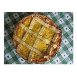 伝統的でイタリアンなケーキPastiera Napoletana ポストカード