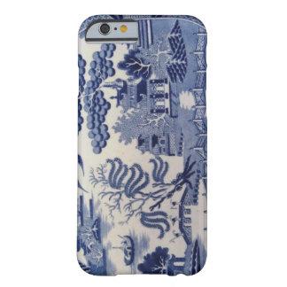 伝統的で19世紀で青いヤナギの中国の箱 BARELY THERE iPhone 6 ケース