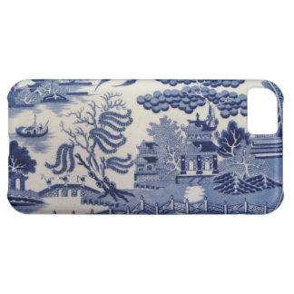 伝統的で19世紀で青いヤナギの中国の箱 iPhone5Cケース