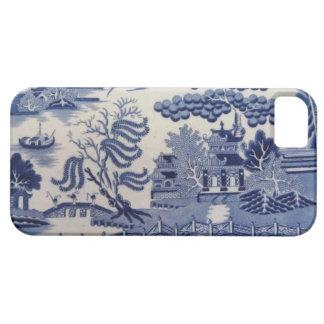 伝統的で19世紀で青いヤナギの中国の箱 iPhone SE/5/5s ケース