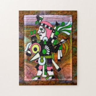 伝統的なインカの民芸 ジグソーパズル
