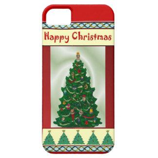伝統的なクリスマスツリー iPhone SE/5/5s ケース
