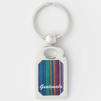 伝統的なグアテマラの生地の織り方の習慣の文字 キーホルダー