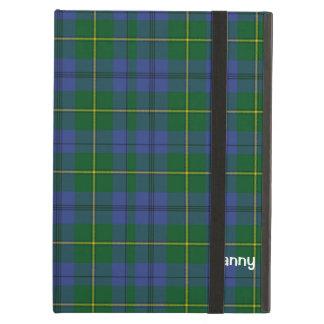 伝統的なジョンソンのタータンチェック格子縞のiPadの空気箱 iPad Airケース
