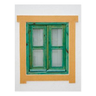 伝統的なポルトガルの窓 ポストカード