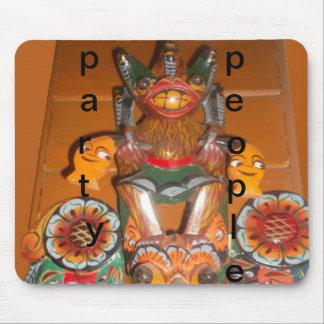 伝統的な古代習慣はプロダクトをdesigCustomize マウスパッド