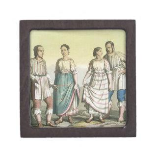 伝統的な衣裳、メキシコのMichoacanのインディアン( ギフトボックス