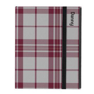 伝統的なMacGregorの服のタータンチェック格子縞のiPadの場合 iPad ケース