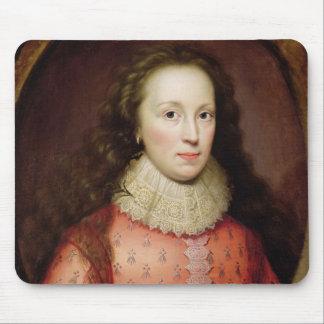 伝統的にtとして識別される女性のポートレート、 マウスパッド