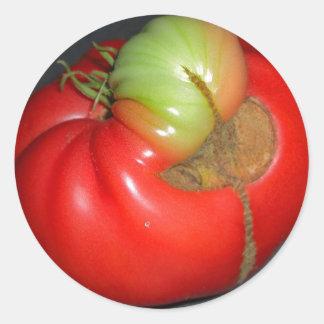 伝説のトマト ラウンドシール