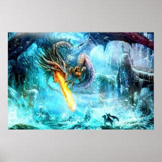 伝説のドラゴンポスター ポスター