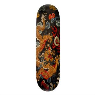 伝説の幽霊の武士のドラゴンのマスター スケートボード