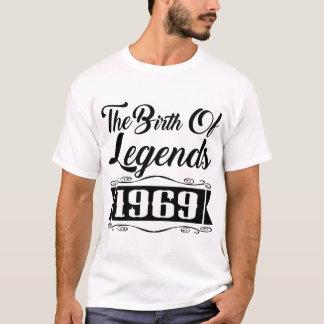 伝説1969年の誕生 Tシャツ