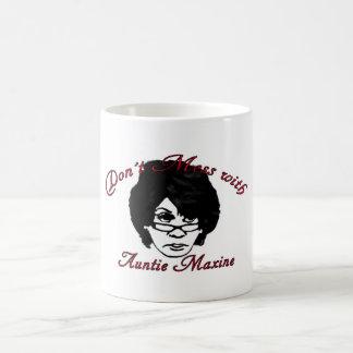 伯母さんとMaxine台なしにしないで下さい コーヒーマグカップ