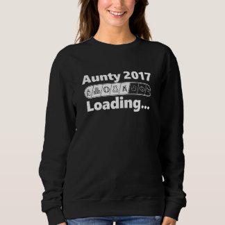 伯母さん2017年のローディングのカッコいい及びT-shirtおもしろいの未来の伯母さん スウェットシャツ
