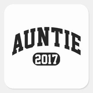 伯母さん2017年 スクエアシール
