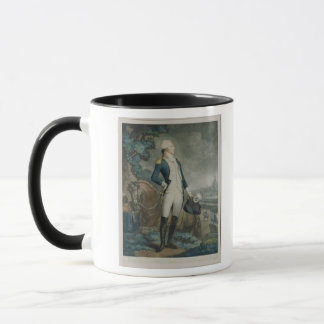 伯爵夫人de La Fayetteのポートレート マグカップ
