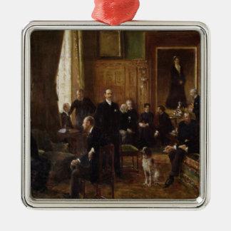 伯爵婦人Potocka 1887年のサロン メタルオーナメント