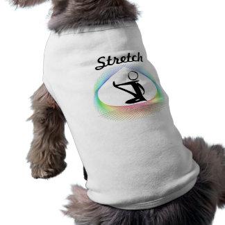 伸張犬のワイシャツ ペット服